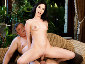 GrandpasFuckTeens - Nikki Fox,Eddie - Vacancy For One