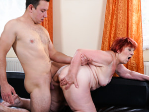 LustyGrandmas - Marsha,Rob - Pleasure On Delivery