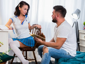 AnalTeenAngels - Mary Frost,Sam Frost - Marys Home Education