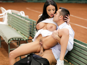 AssHoleFever - Anissa Kate - Anissa Anal Tennis Practice