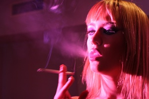 BlueAngelLive - Blue Angel - Fun video: smoking fetish