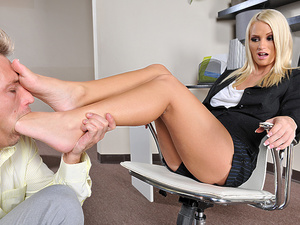 FootsieBabes - Emily Austin - High heels seduction