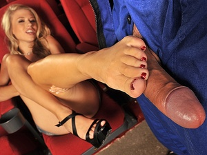 FootsieBabes - Michelle Moist - Lick my feet and you'll be happy