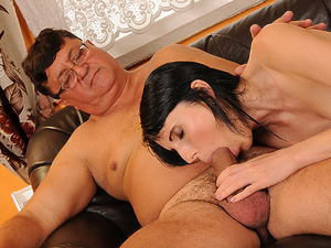 GrandpasFuckTeens - Amy - Amy's favorite old man