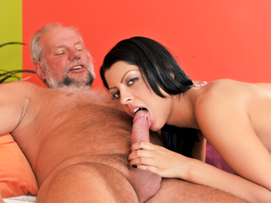 GrandpasFuckTeens - Vivien Bell, Albert - Grandpa's After Pool Screw