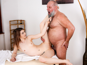 GrandpasFuckTeens - Tera Link, Albert - Let Grandpa Massage You