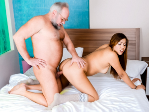 GrandpasFuckTeens - Karla - Morning Coffee & Fuck