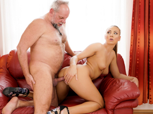 GrandpasFuckTeens - Ornella Morgan, Albert - Pleasing Naughty Grandpa
