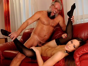 GrandpasFuckTeens - Ashley - Young Trophy, Old Hunter