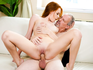 GrandpasFuckTeens - Candy Red,Michael - Sex Is Better Than Hiking
