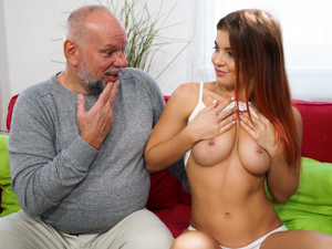 GrandpasFuckTeens - Renata Fox,Albert - Sick Day Remedy