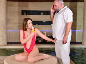 GrandpasFuckTeens - Emerald Ocean,Albert - Spa for Spoiled Sluts