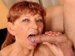 LustyGrandmas - Irene - Pump me harder!