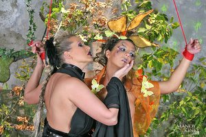 MandyIsKinky - Mandy Bright,Maria Bellucci - Battle of the fairies