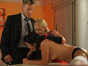 MightyMistress - Kathia Nobili,Denise Sky - The Godmother returns - part 3