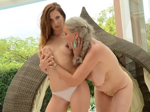 OldYoungLesbianLove - Aliz,Candy Sweet - End of Summer