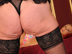 OldYoungLesbianLove - Sandora,Kitty Cat - Old or young - sluts the same!
