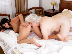 OldYoungLesbianLove - Norma,Naomie - Sexy Selfies And Ass Eating