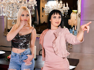 OldYoungLesbianLove - Sissy,Roxy Risingstar - Little Gold Digger