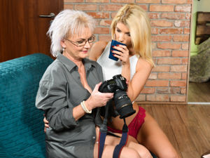OldYoungLesbianLove - Missy Luv,Elvira - My Young Muse
